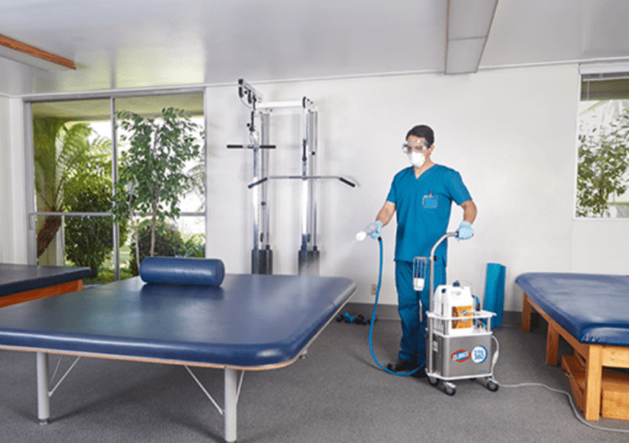 total disinfection of gyms in Grand Rapids area