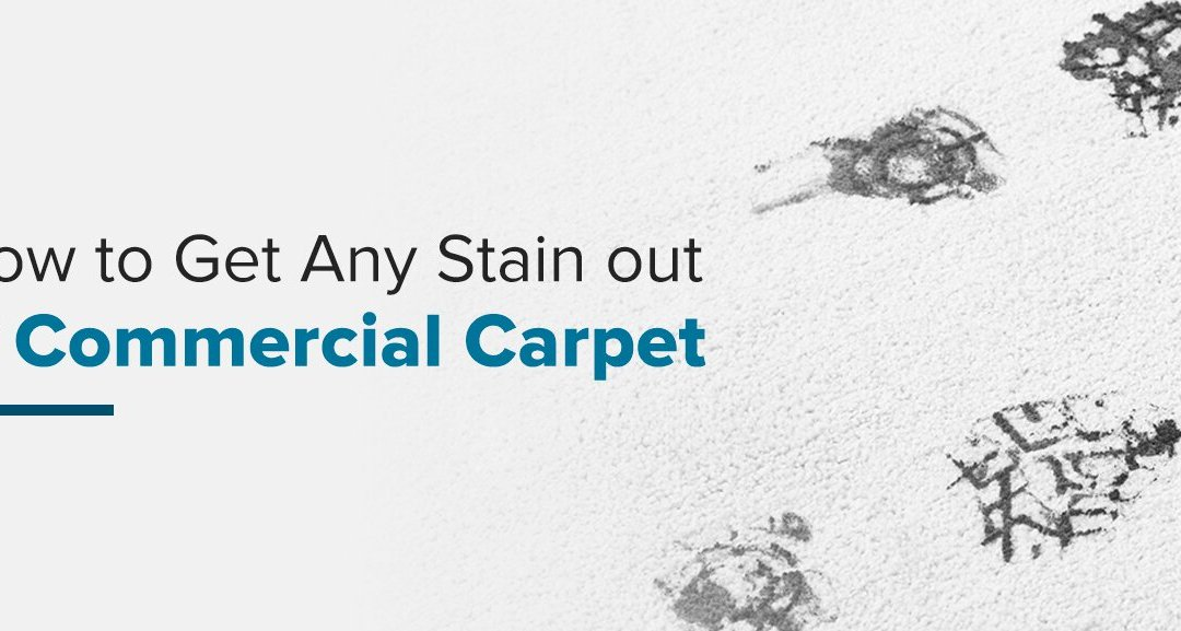 How to Get Any Stain out of Commercial Carpet