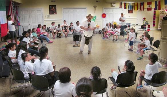 Drum Your Dream Drum in school
