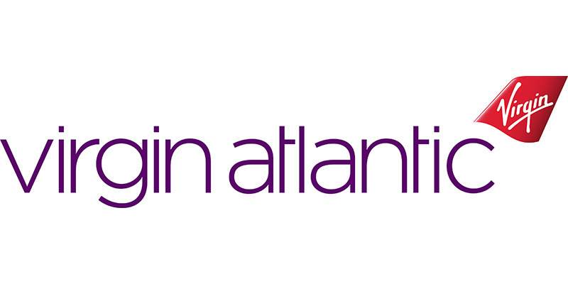 Drum Energisers - Virgin Atlantic logo