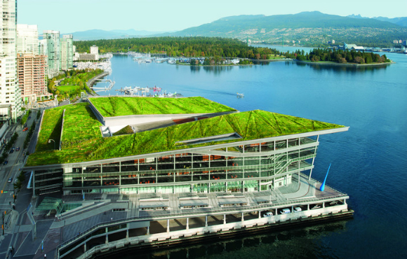 Vancouver Convention Centre: The World's First Double LEED