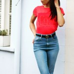 Corporate_Style_Story_Red_Coca_Cola_Shirt_High_Waisted_Jeans_Gucci_Belt