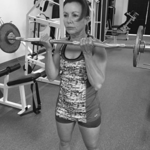 Wendy McGuff Barbell Curl