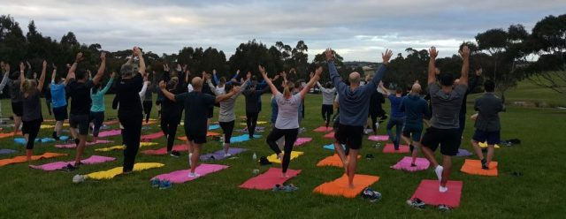 why corporate yoga melbourne