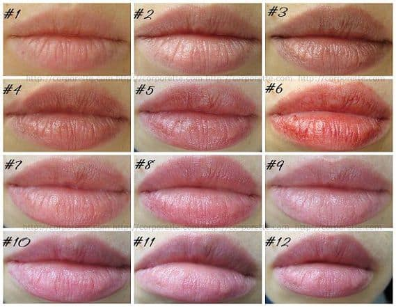 Tinted Lip Balms Swatches And Reviews Corporette