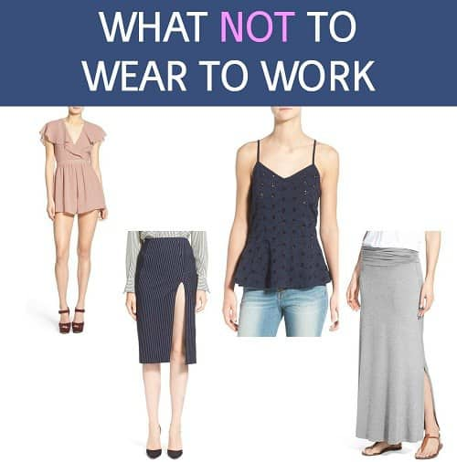 What Not to Wear to Work Corporettecom