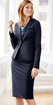 Affordable Interview Suits for Women: Talbots