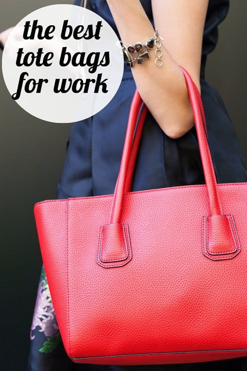 Presenting: the BEST work bags for work, interviews, and more! Whether you're looking for a great tote to hold your resume for interviews, to lug your stuff to the office on your commute, or to slide over your rolling bag for your next business trip, we rounded up our favorite tote bags for work -- the classics, the best-sellers, and the trendy ones of 2018!