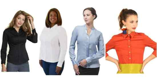 the best dress shirts for women with larger busts