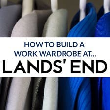 How to Build a Work Wardrobe at Lands' End