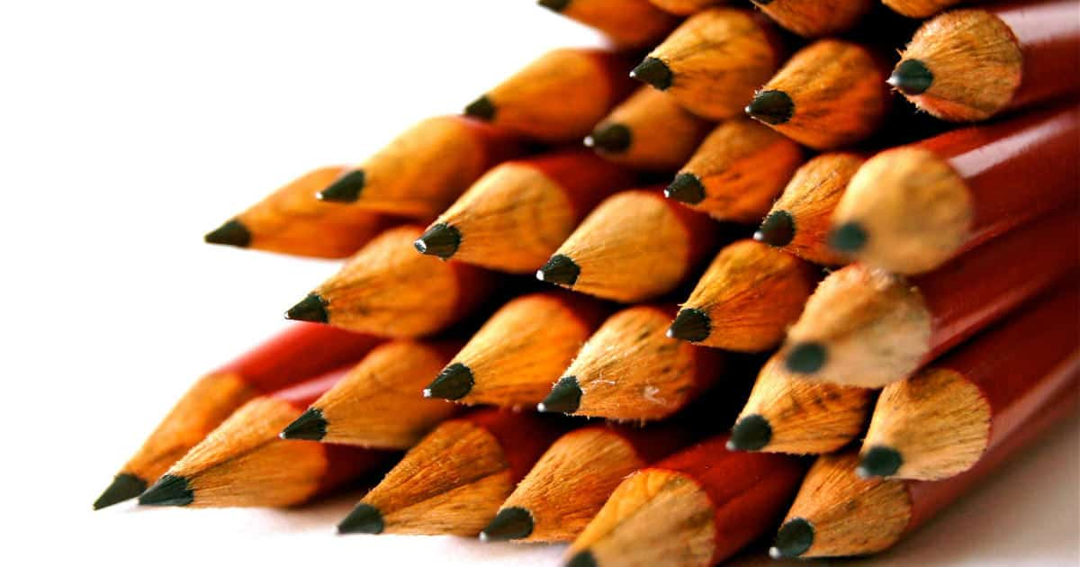 favorite office supplies - image of pencils