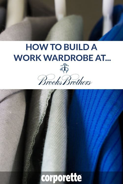Brooks Brothers is a classic spot for workwear -- and there are some GREAT things even young professional women can get. We rounded up our favorites to help you build your work wardrobe at Brooks Brothers....
