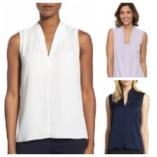 our favorite sleeveless tops, blouses, and shells