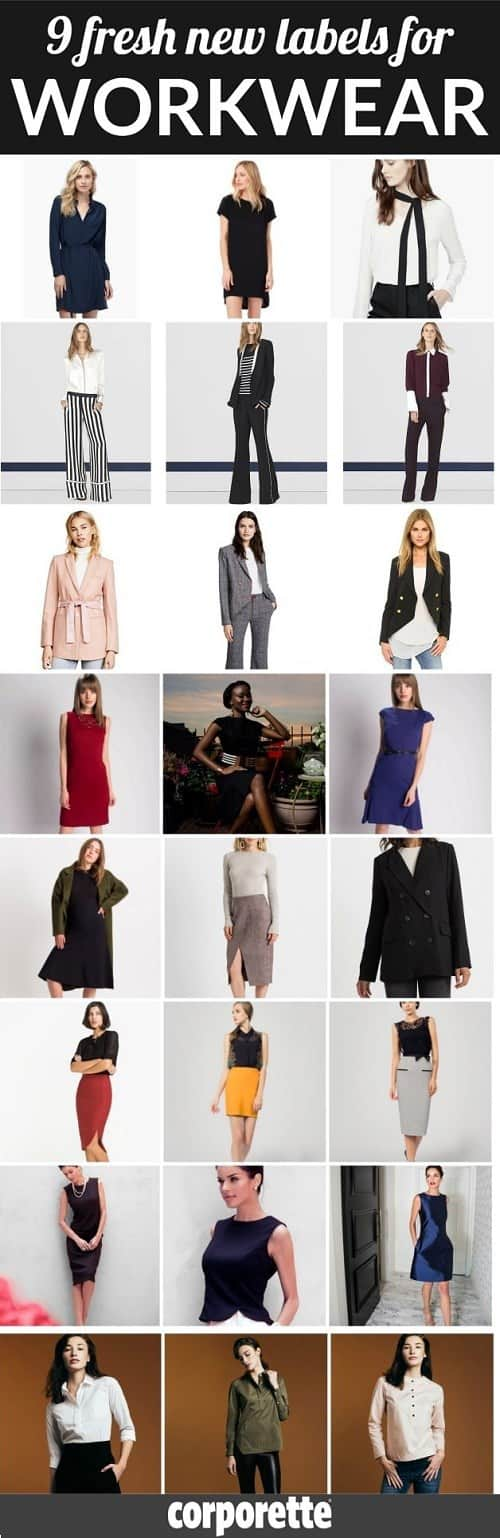 Looking for new labels for workwear? We're updating our massive list of workwear fashion start-ups with nine new brands all targeting stylish career women, including Cuyana, La Ligne New York, Laveer, Maven Women, Ministry of Supply, Modern Citizen, Rita Phil Custom Fashion, Senza Tempo, and Thirteen Seven...
