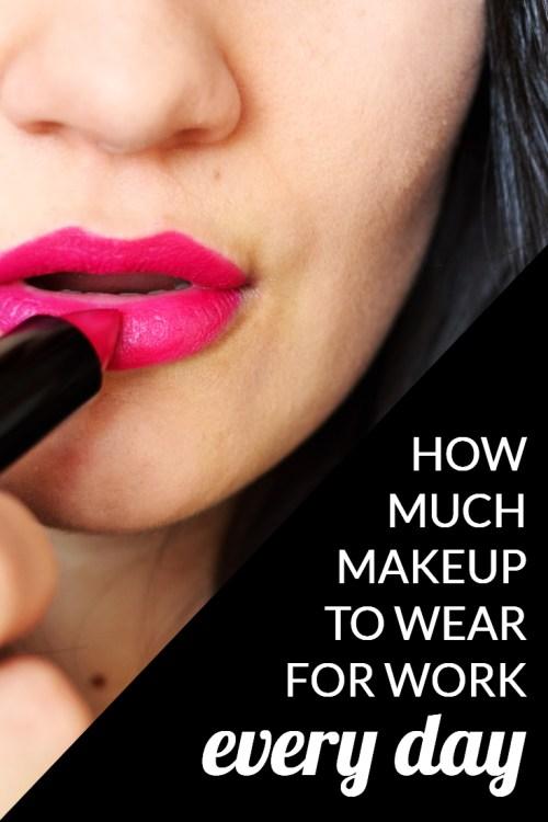 We had a fun question for our professional readers: how much makeup do you wear for work on a regular basis -- and how has it changed as you've gotten older and more senior in your career? Great discussion if you're wondering how much (or how little) makeup you can get away with at work.