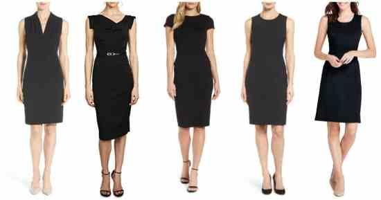 classic sheath dresses for work 2018