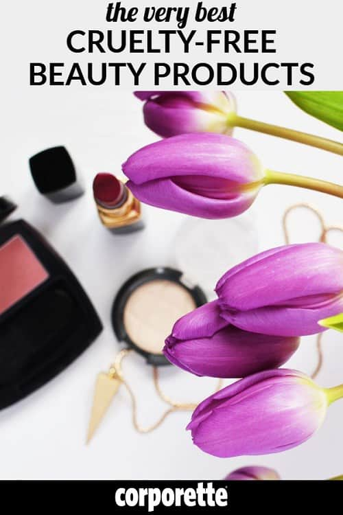 "You don't NEED makeup to look polished and professional -- but most career women do wear makeup and studies have shown it increases the perception of ""competence."" If you're concerned about the ethics of makeup, though, worry no more: we've done a roundup of some of the best cruelty-free beauty products (reader favorites!)."