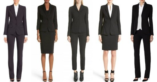 best women's suits of 2018: designer suits for women to drool over - corner office chic