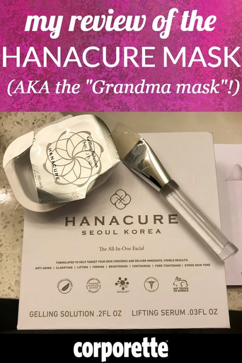 Curious about the Hanacure mask (aka the Grandma face) you may be seeing all over Facebook and other social media? Kat tried it, and is sharing her Hanacure Mask review!