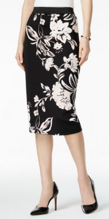 pencil skirts for work in fun prints under $  50