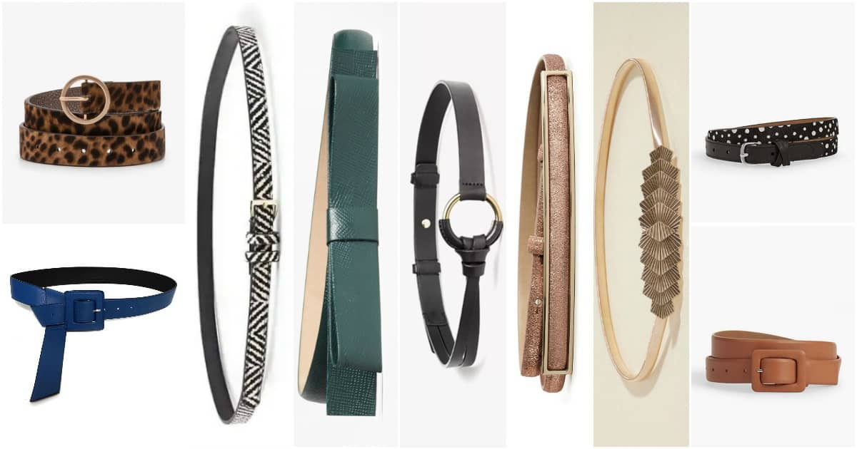 stylish women's belts for work 2018