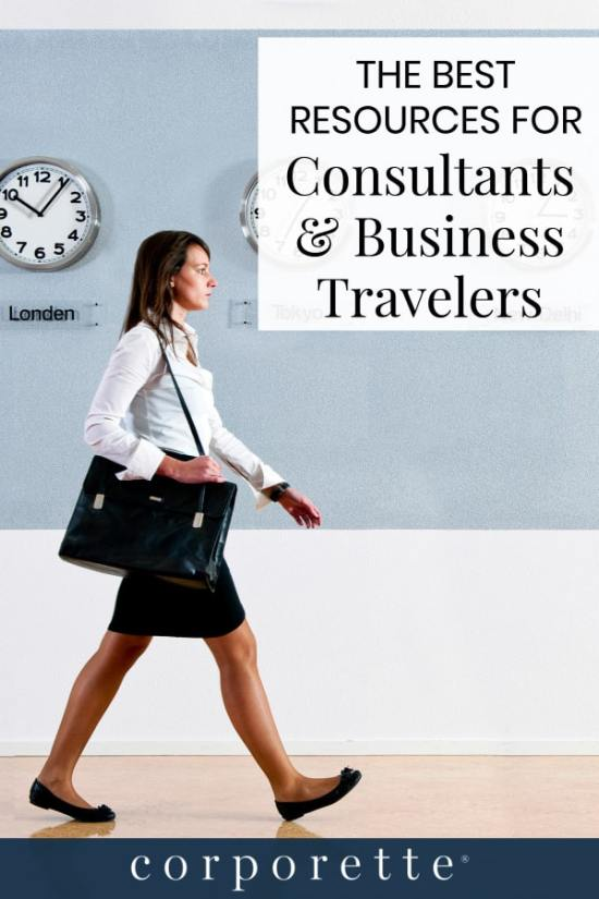Guestblogger and business travel expert Road Warriorette shares her favorite resources and blogs for female consultants and other women business travelers, including the best sites to help you maximize your points, sites geared for women travelers, and sites with fashion advice for business travel!