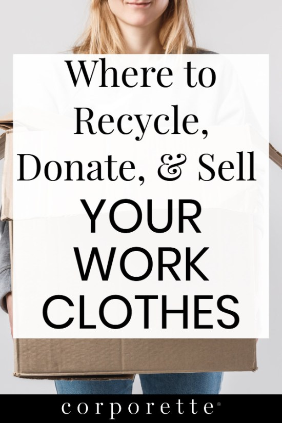 Looking to get rid of some old work clothes? These are our top tips on where to recycle, donate, and sell your work clothes, including options that count as charitable donations, get you coupons in exchange for recycling clothes, and which places to avoid.