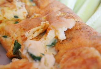 omelette safran gingembre persil index glycémique nul
