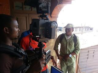 Set of Omoge Campus Video Shoot