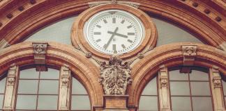 Horloge d'une gare