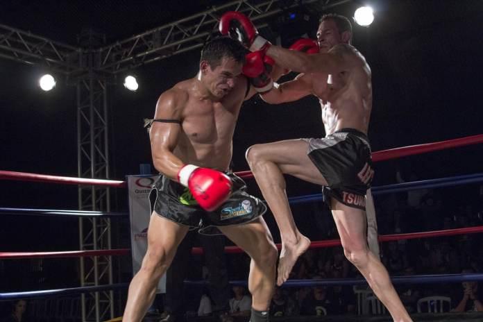 Deux combattant de full contact