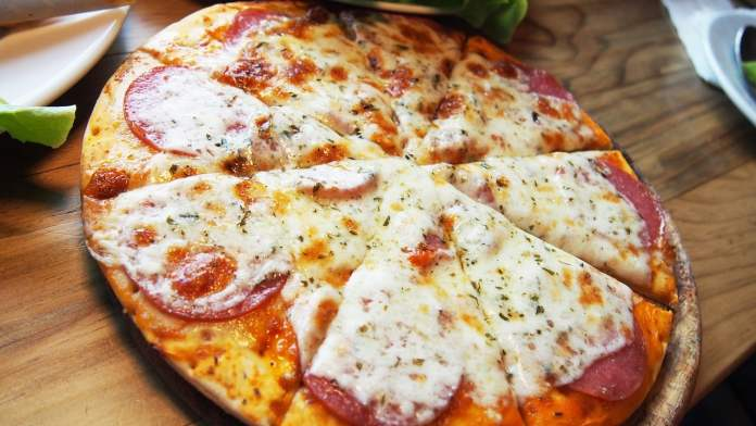 Photo d'une pizza