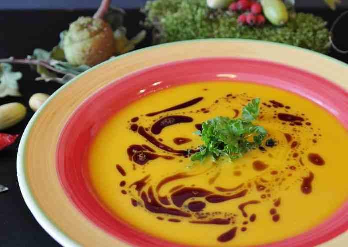Assiette de soupe