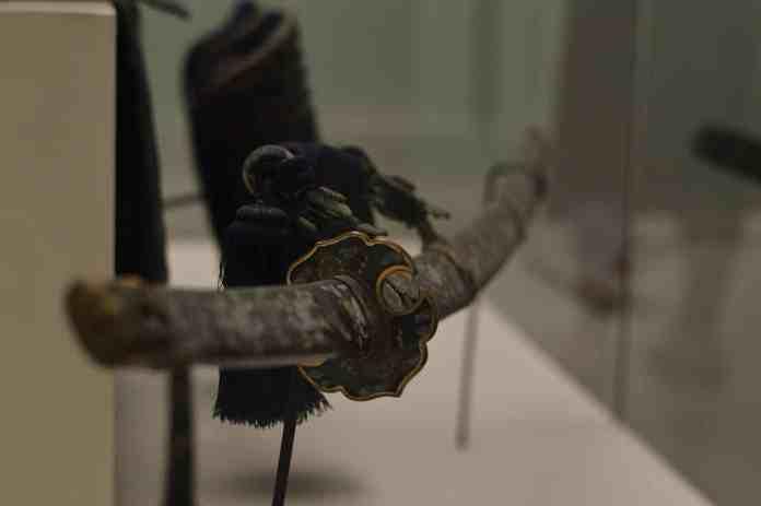 Photographie d'un katana