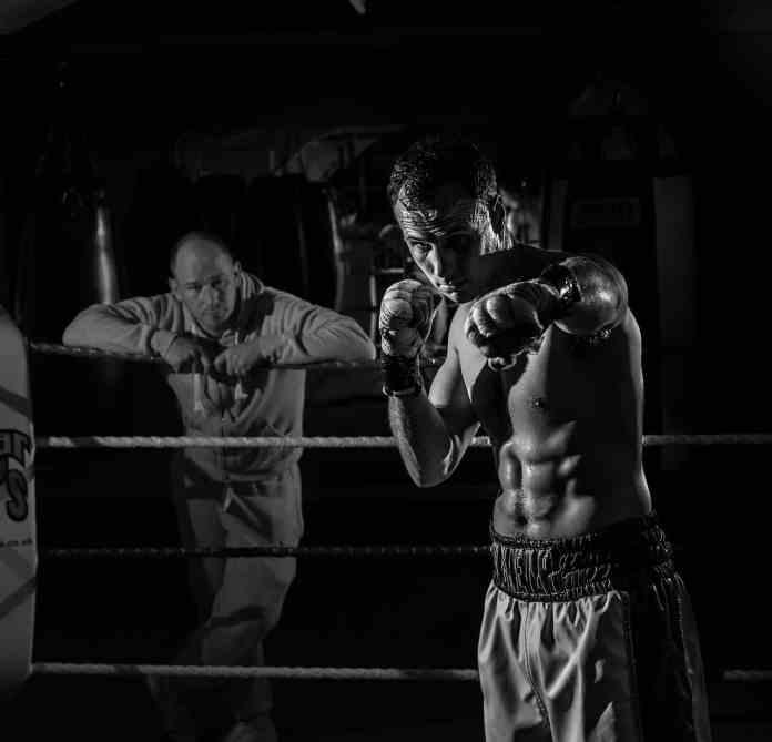 Photo de boxeur