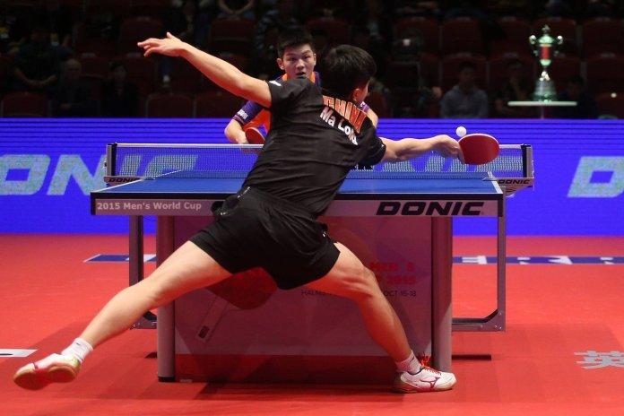 Match de ping-pong