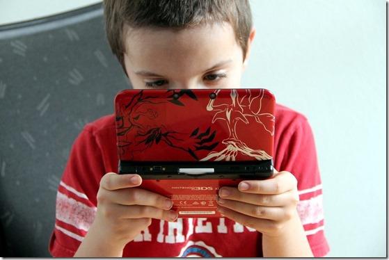 enfant console de jeux