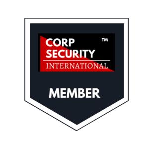 Corp Security International Member