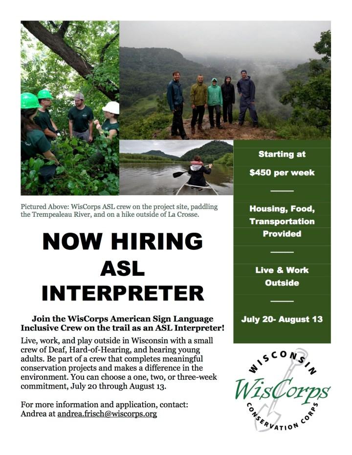 Flyer for Interpreter