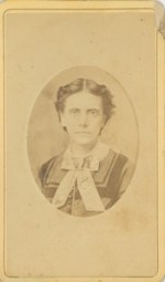 Carte de Visit of Anna Longshore Potts