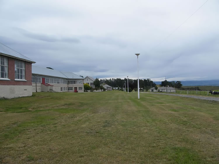 Waipiata Sanatorium, Grounds towards southwest