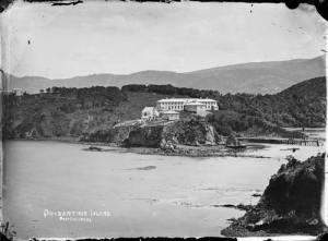 Hospital, 1880, Quarantine Island Kamau Taurua
