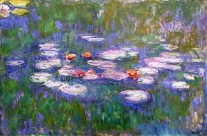 Water Lilies1916-1919 by Claude Monet