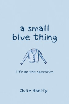 A small blue thing