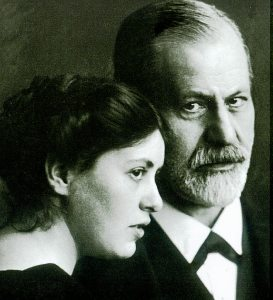 Sigmund Freud and his daughter Sophie