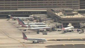 grounded planes at Pheonix Arizona