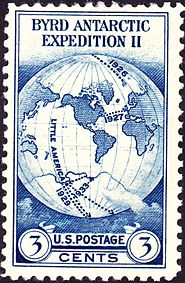 Admiral Byrd AntarcticExpedition1933 postage stamp