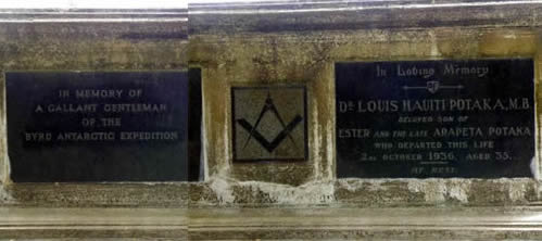 Louis Potaka grave site