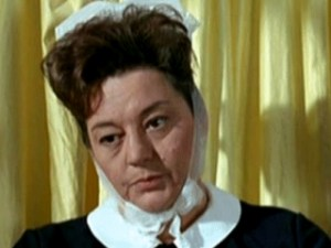 Hattie Jacques as Matron in Carry On Doctor, 1967