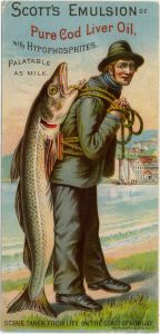 cod liver oil advertisement